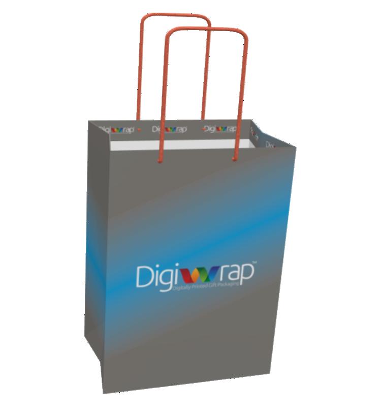 Custom Printed Gift Bag - Medium Digital