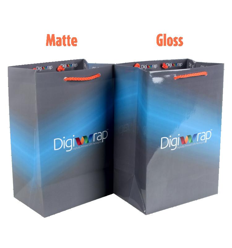 Custom Printed Gift Bag - Medium Gloss/Matte