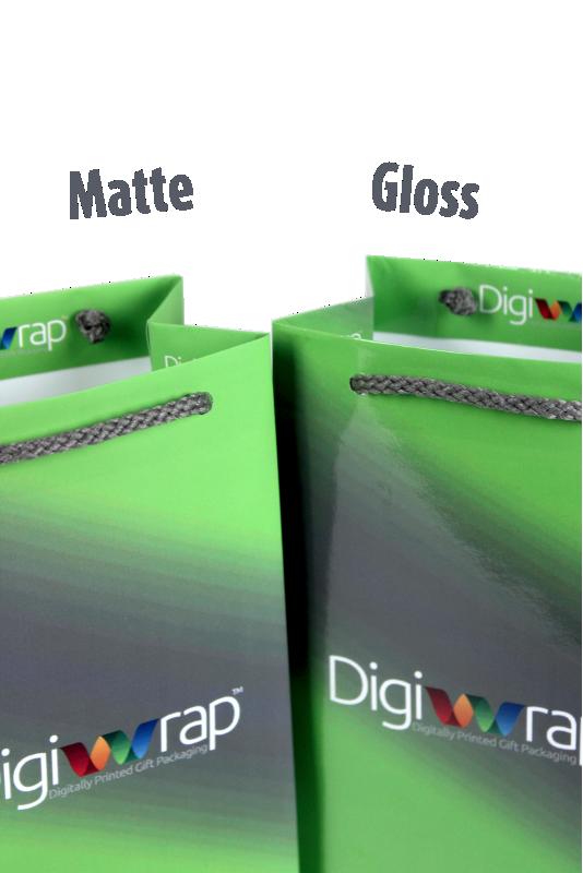 Custom Printed Gift Bag - Small Matte/Gloss