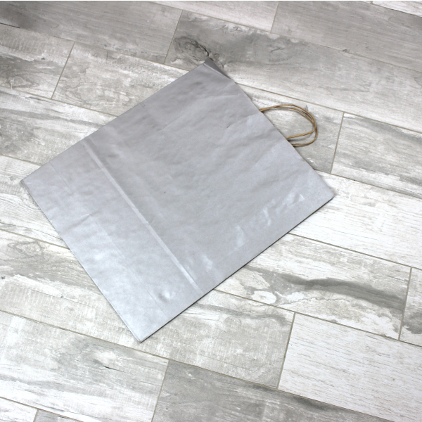 Picture of Kraft Paper Bags - Silver