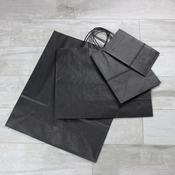 Picture of Kraft Paper Bags - Black