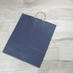 Picture of Kraft Paper Bags - Navy Blue