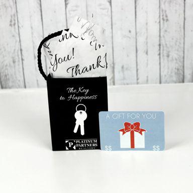 Custom Gift Card Bag