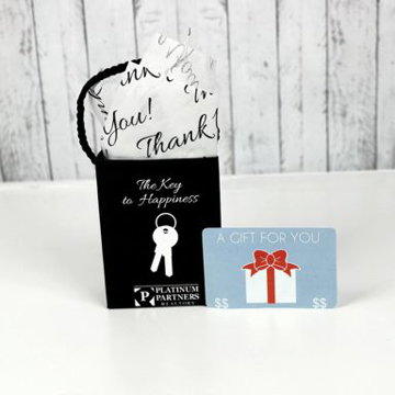 Custom Gift Card Bag